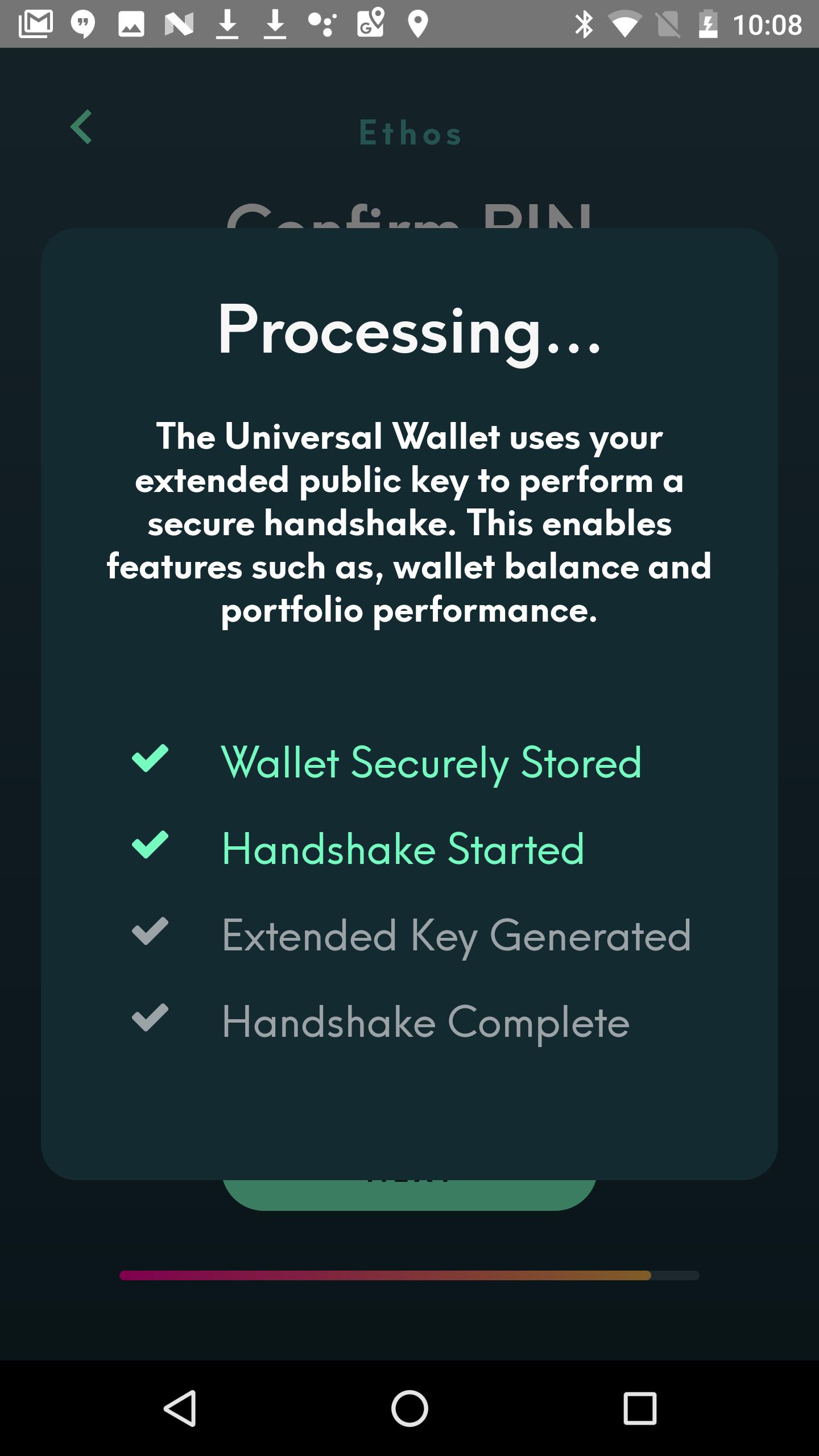 Creating a wallet   Crypto UX Handbook